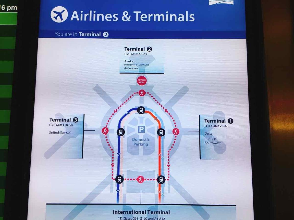 サンフランシスコ空港 ターミナル