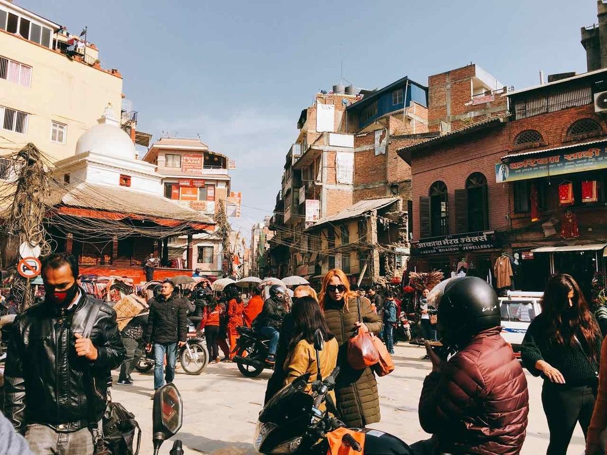 ネパール 街の様子