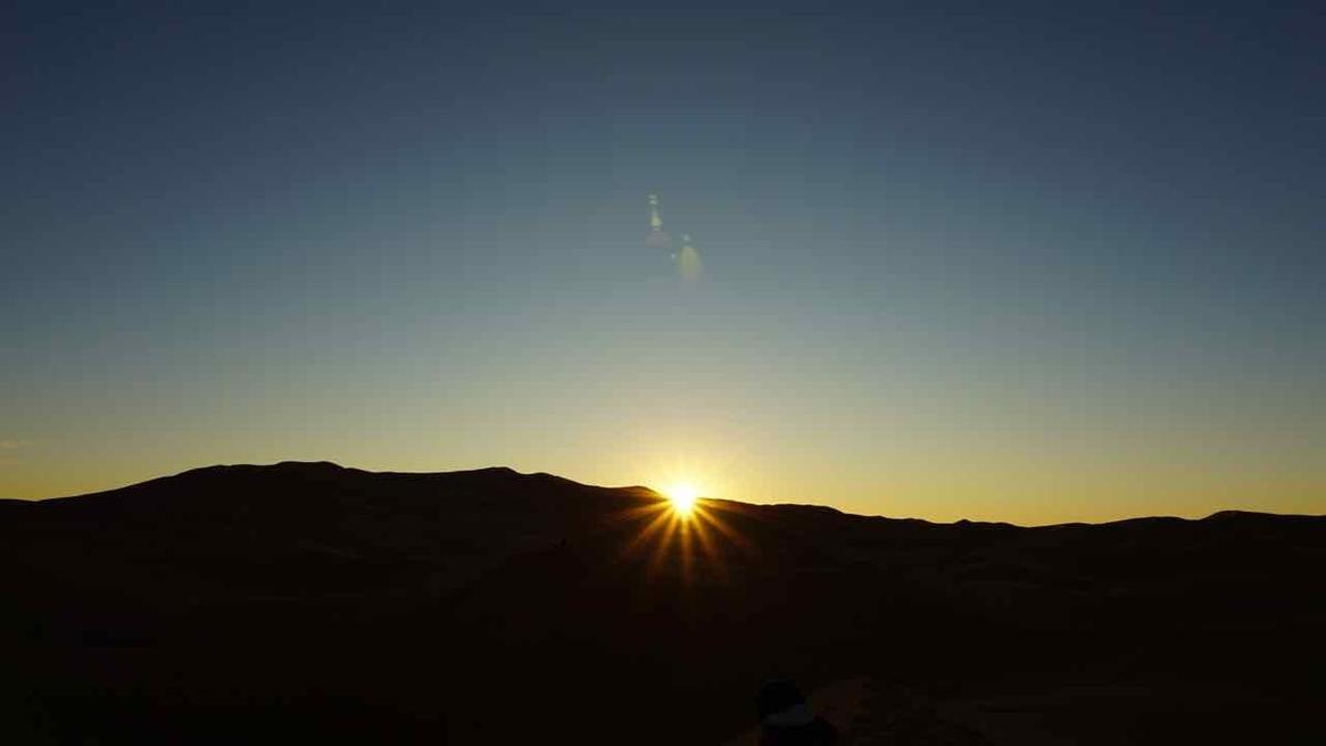 モロッコ 日の出