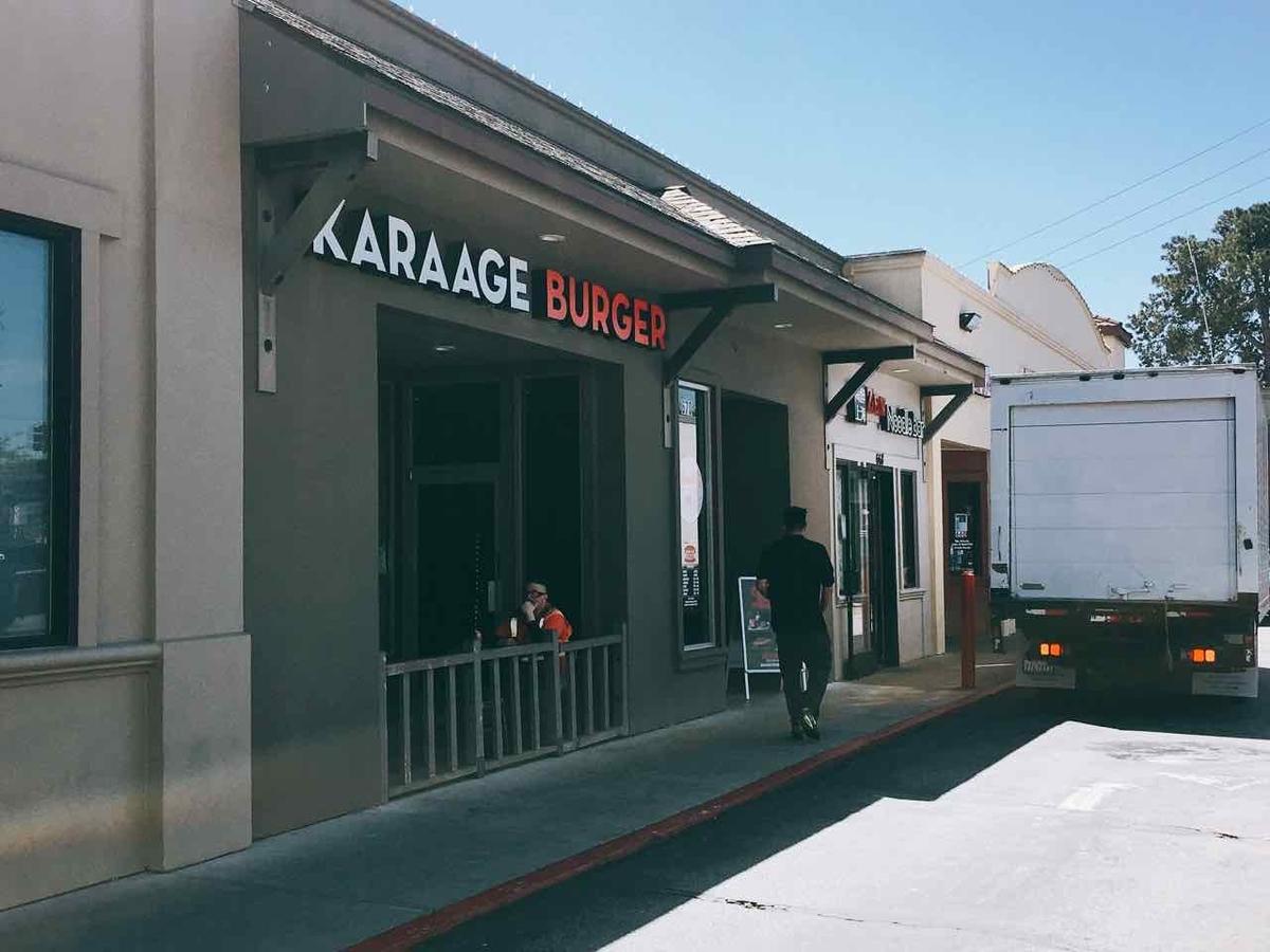 KARAAGE BURGER お店の様子