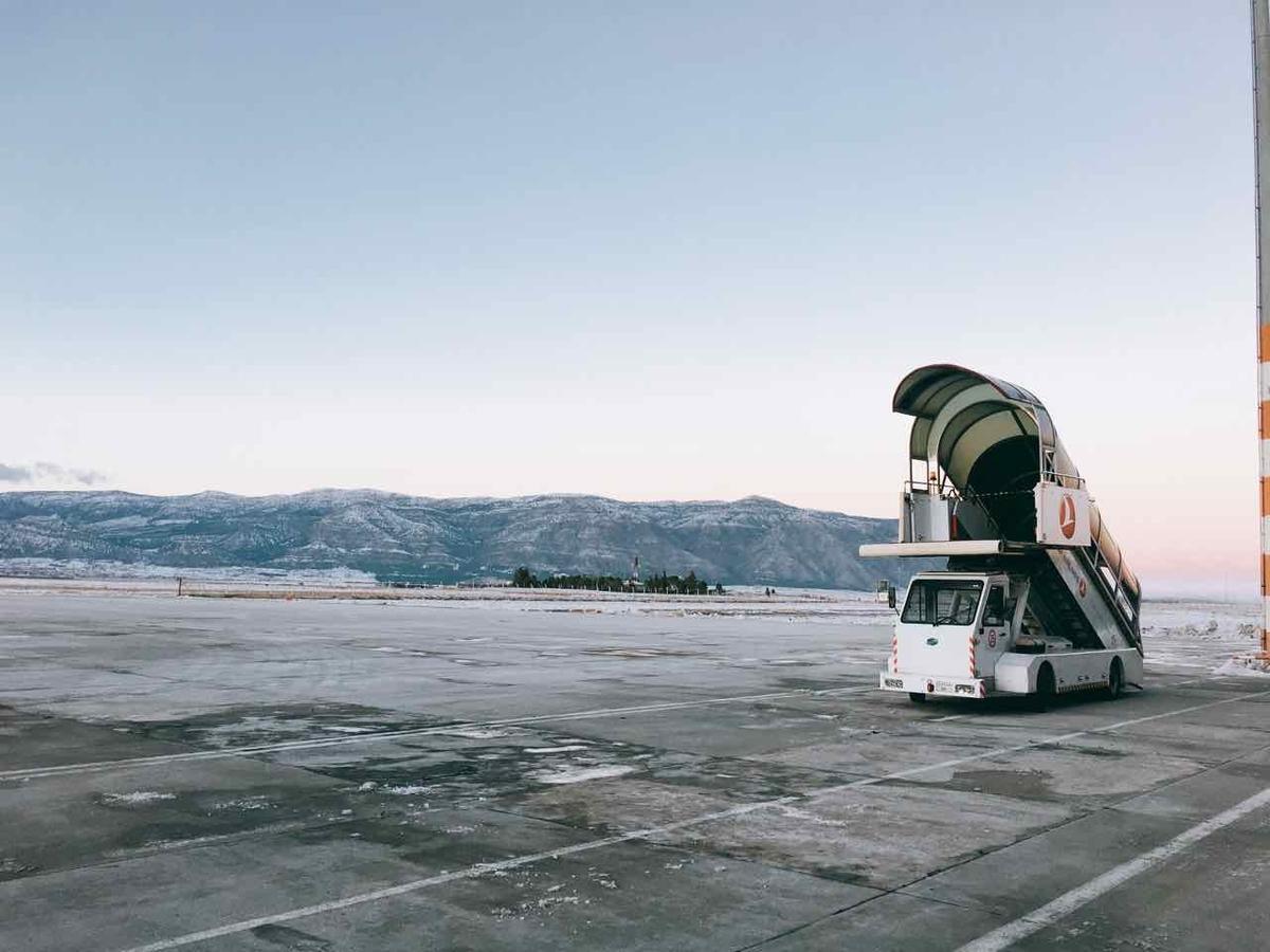 トルコ デニズリ空港