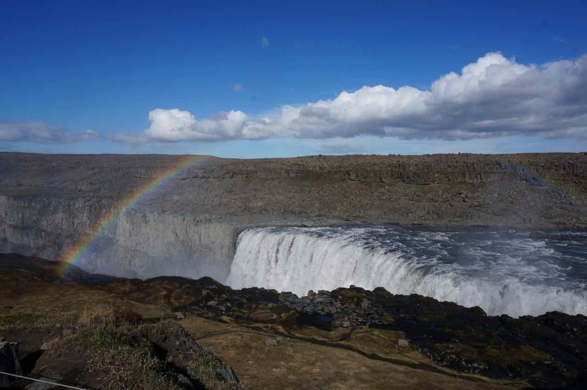 アイスランド 滝