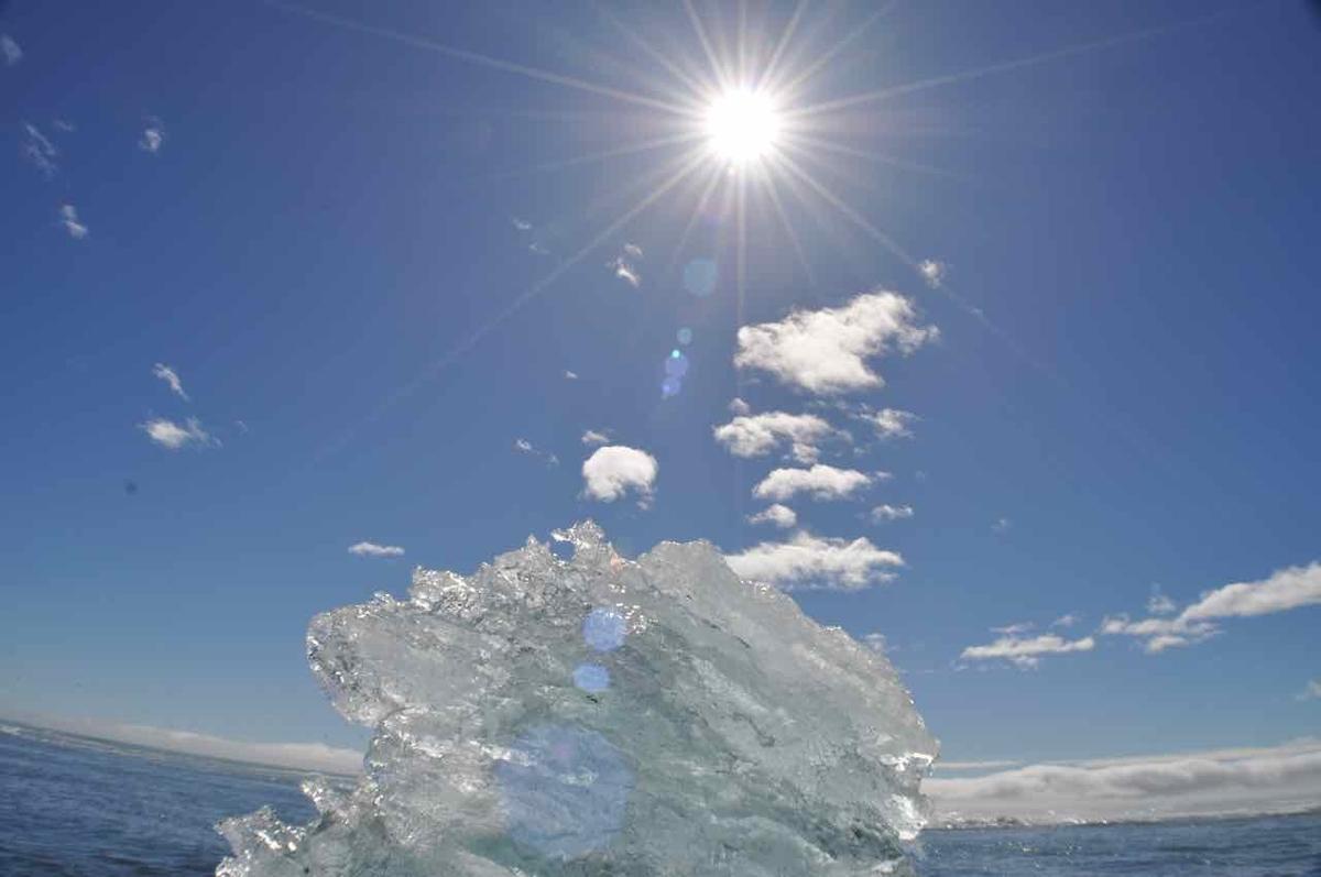 アイスランド ダイヤモンドビーチ