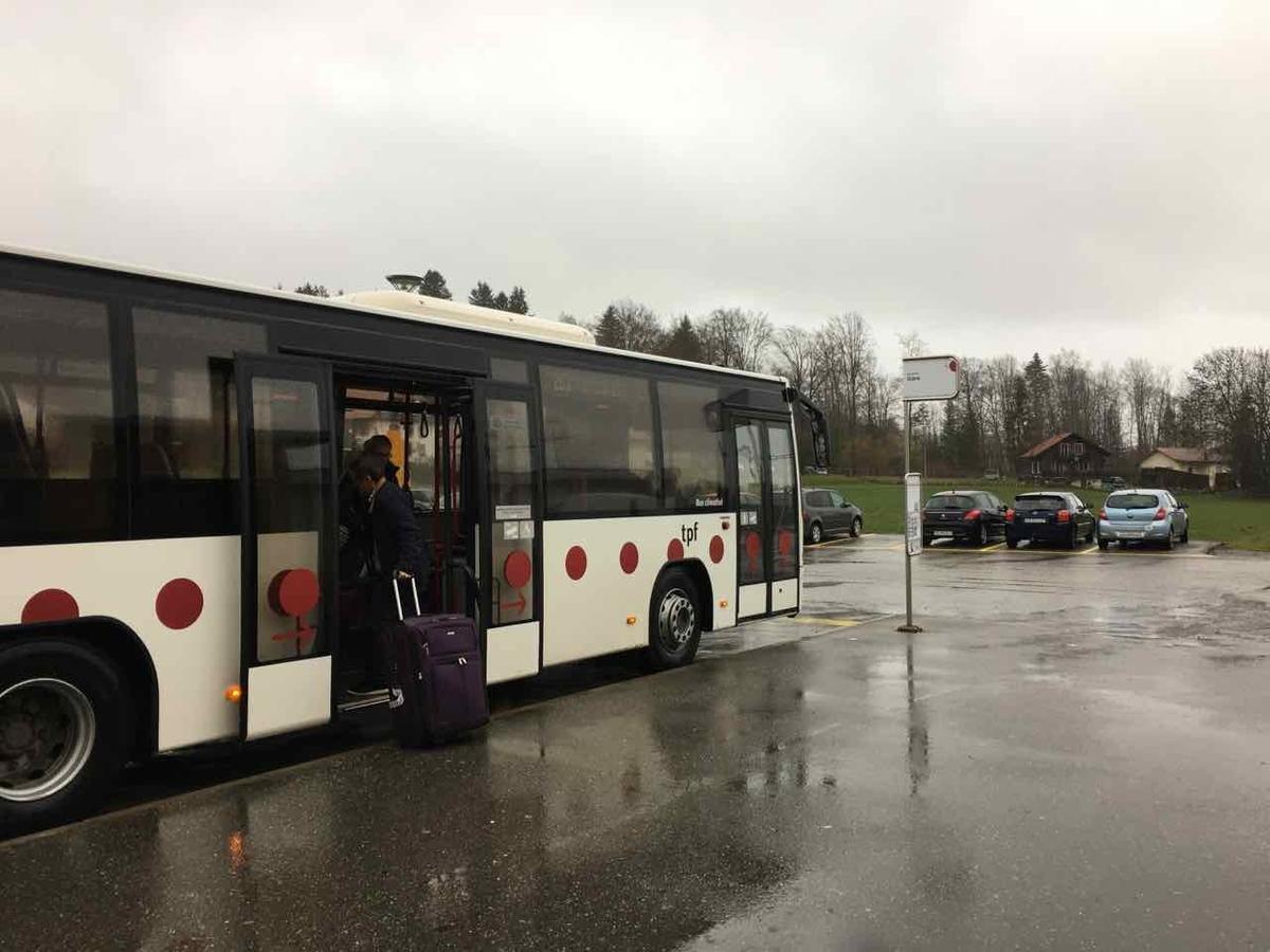 グリュイエール バス