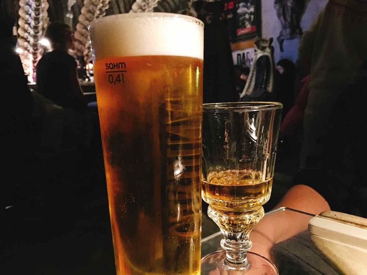 HR Giger Bar Museum ビール