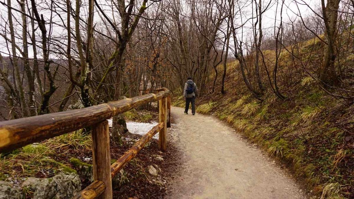 プリトヴィツェ国立公園 歩道
