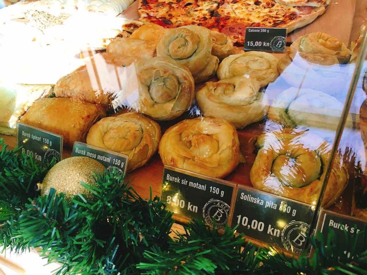 クロアチア スプリット パンの物価