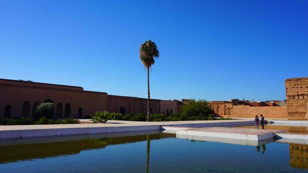 【エル バディ宮殿】El Badii Palace