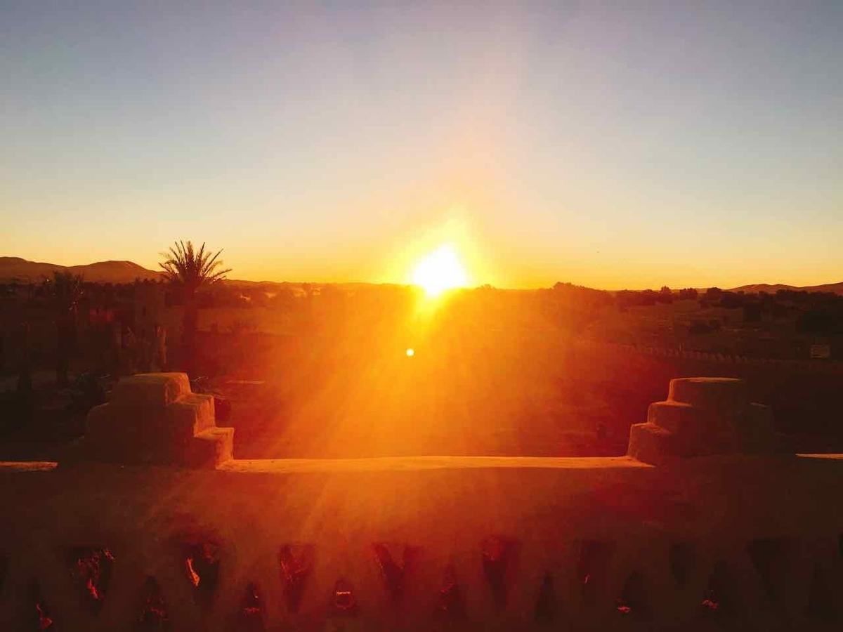 モロッコ メルズーガ 日の出