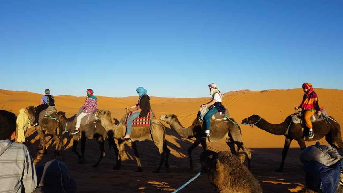 モロッコ メルズーガ 砂漠ツアー