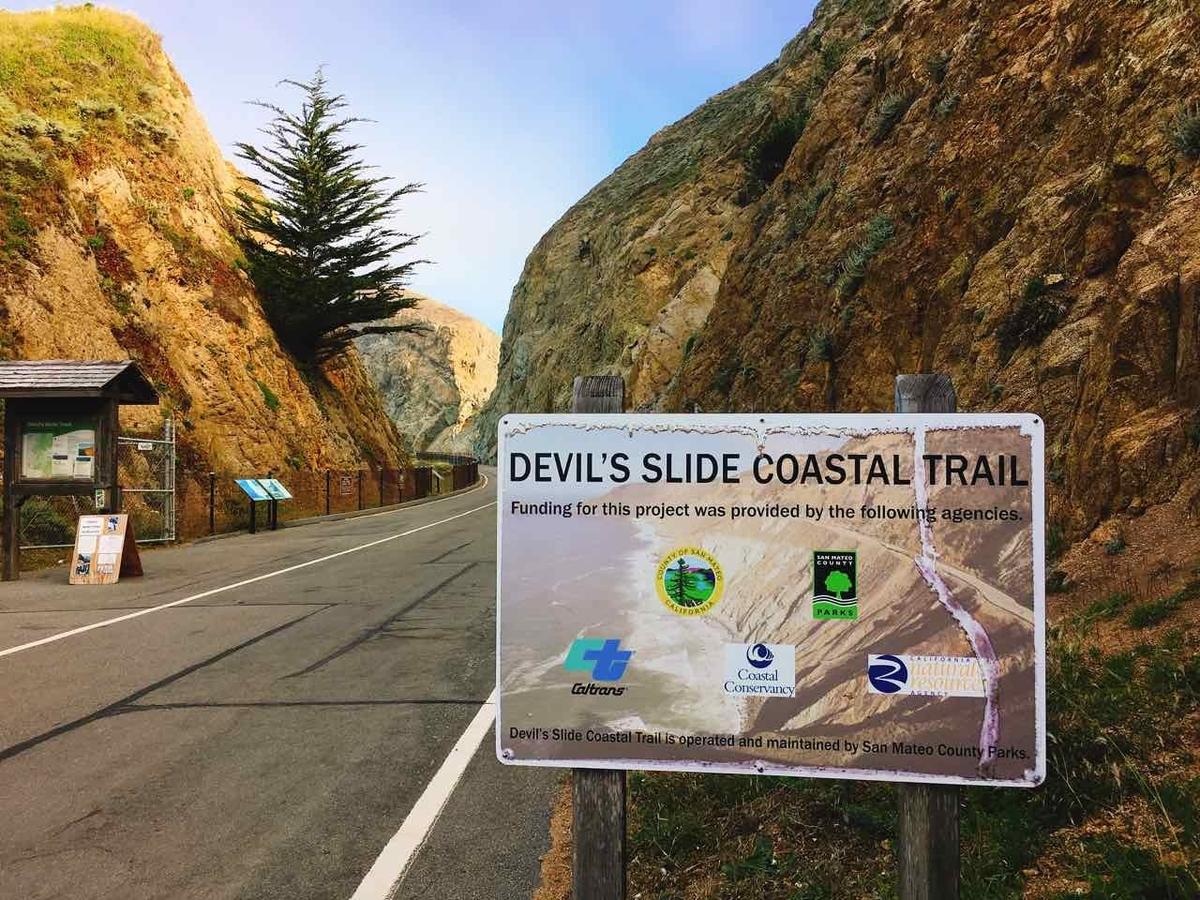 Devils slide trail