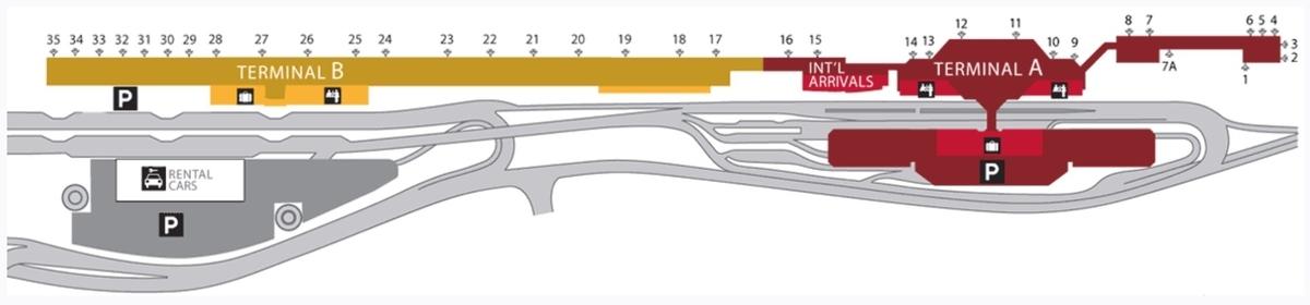 サンノゼ空港 地図