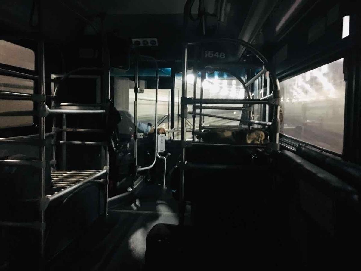 ニューアーク・リバティ空港 バス
