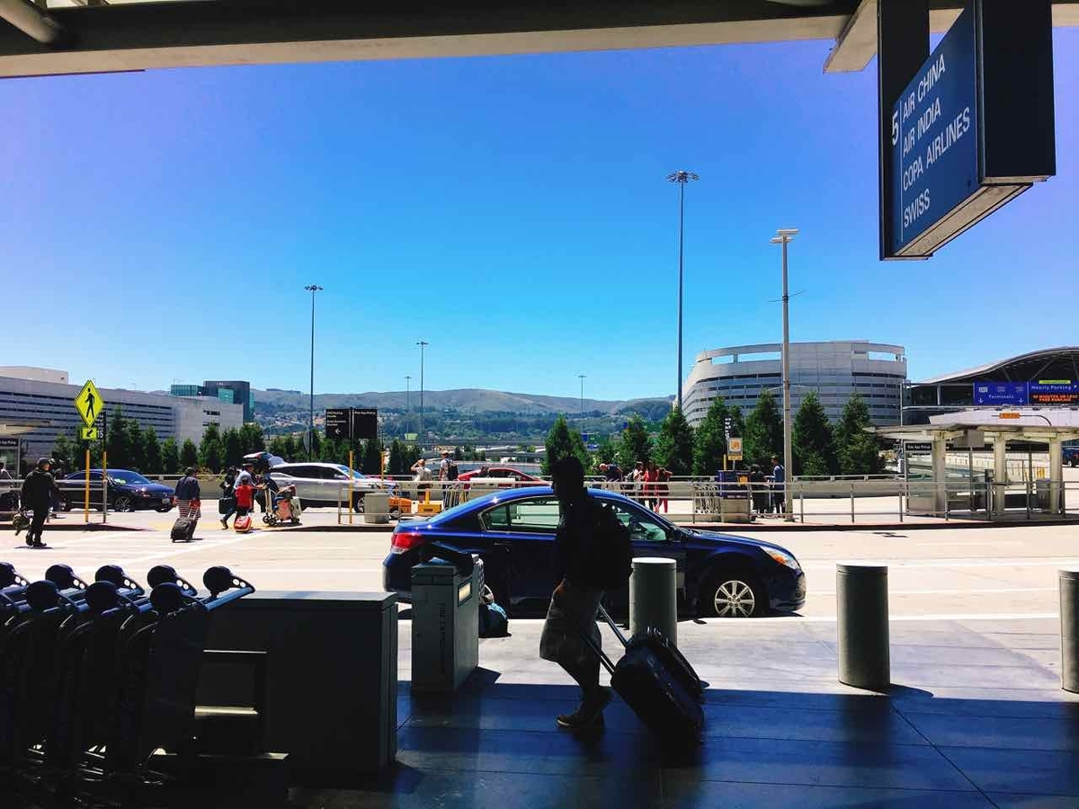 サンフランシスコ空港 ウーバー