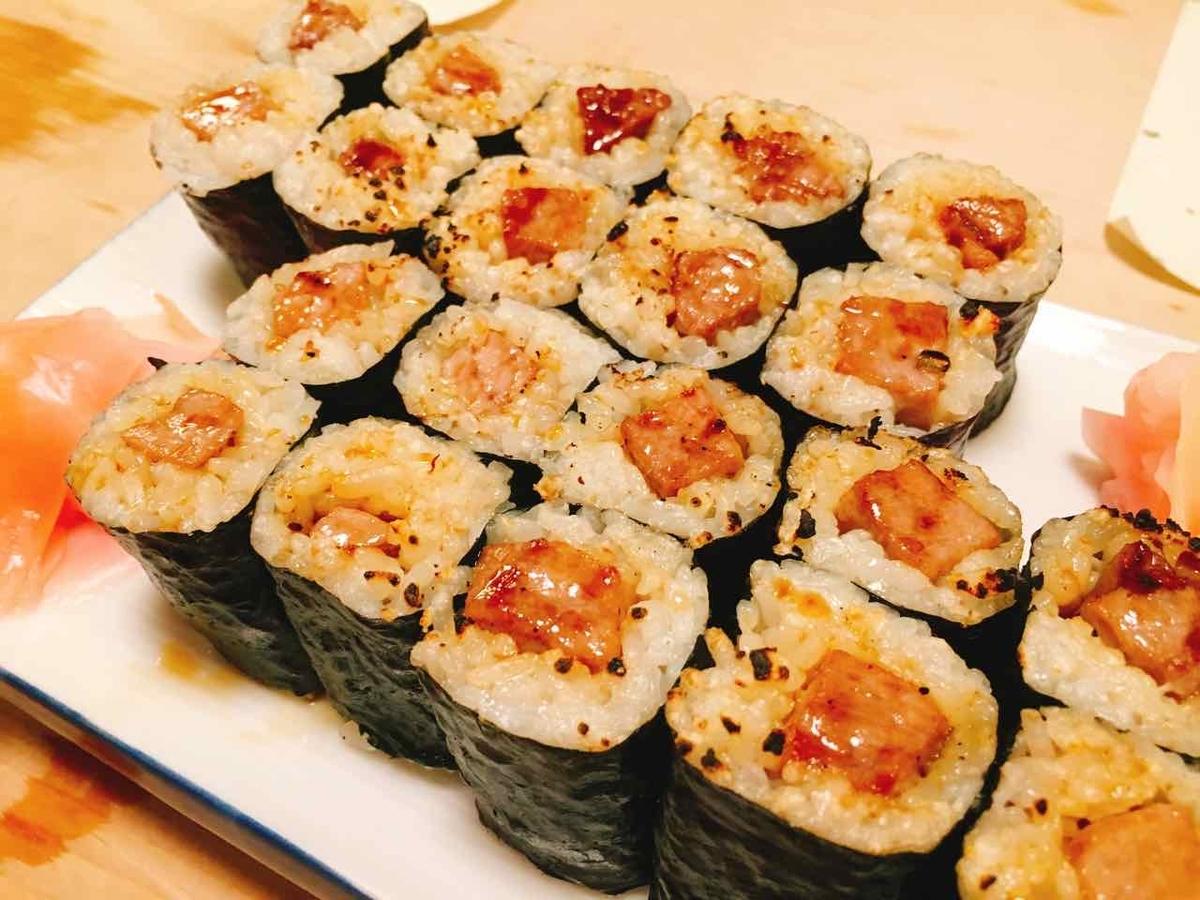 金井寿司 焼き寿司