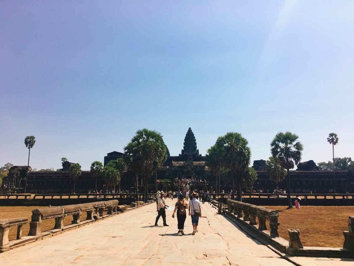 アンコールワット シェムリアップ カンボジア