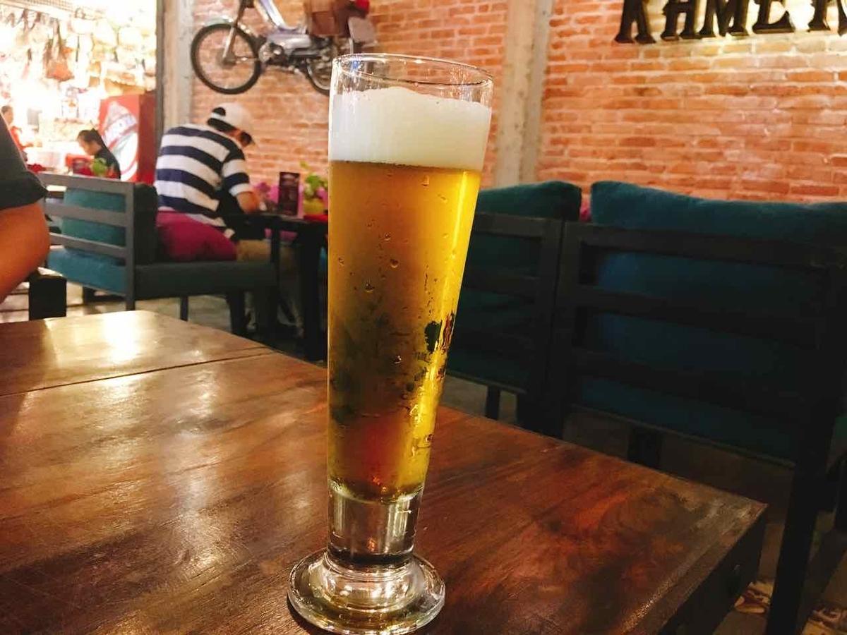 カンボジア シェムリアップ ビール