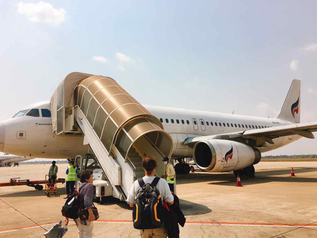 カンボジア シェムリアップ 空港