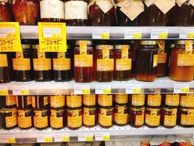 トビリシ カルフール 蜂蜜