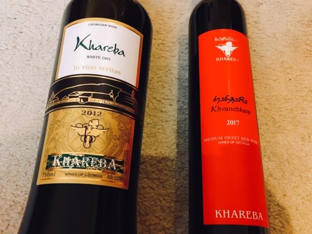 トビリシ カルフール ワイン