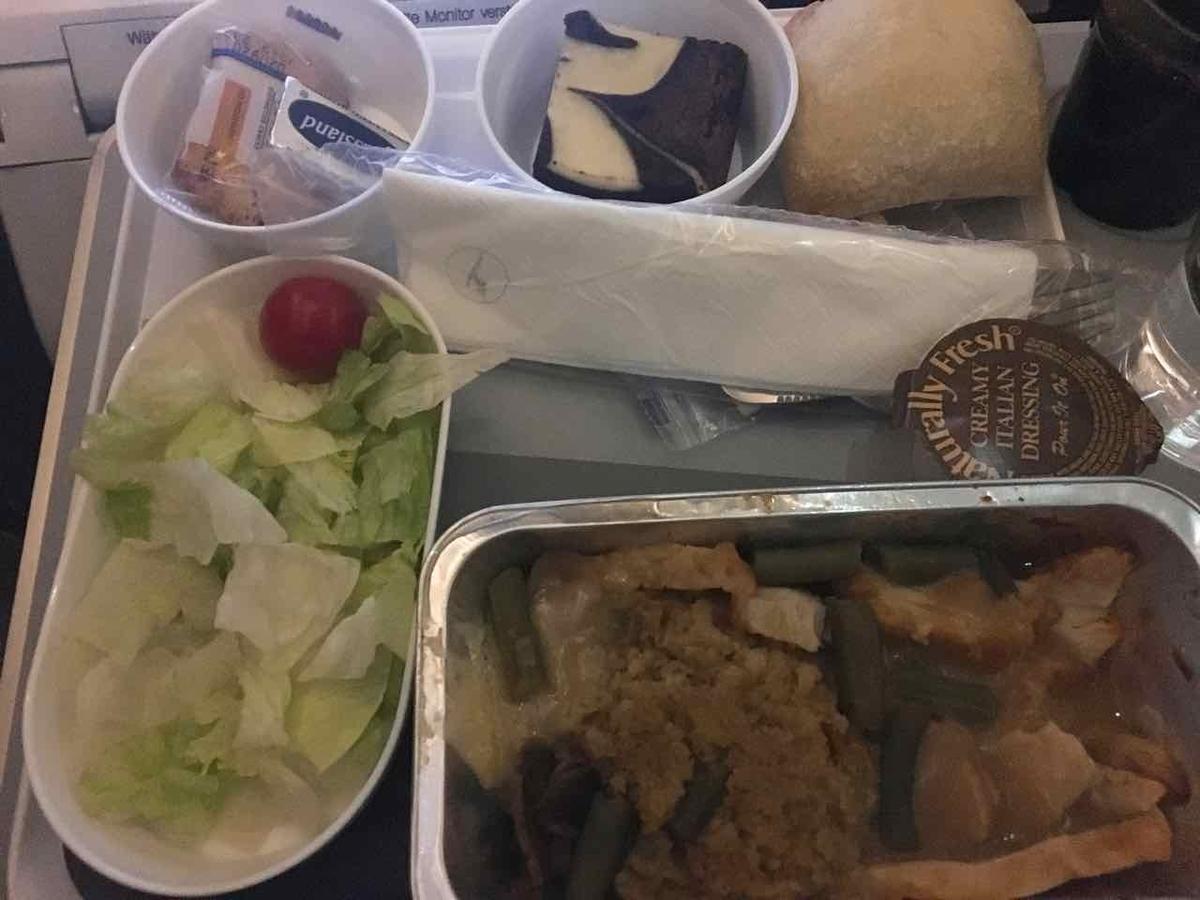 ルフトハンザ航空 機内食