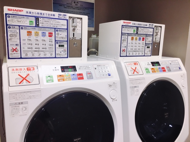 変なホテル 関西空港 洗濯機