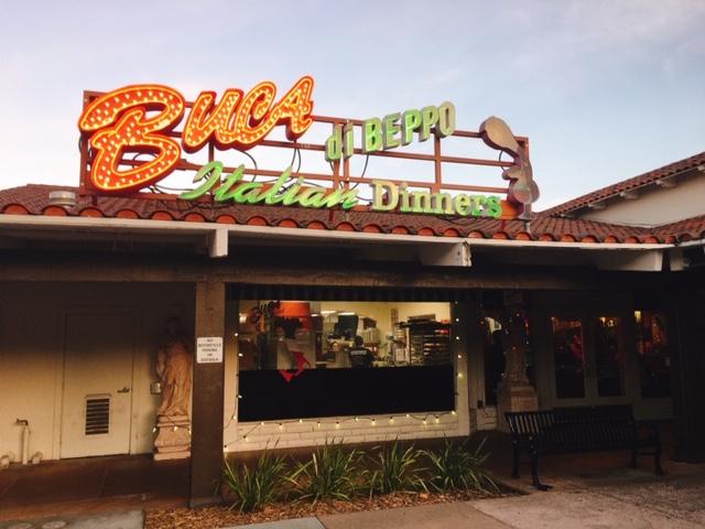 アメリカのイタリアンレストラン