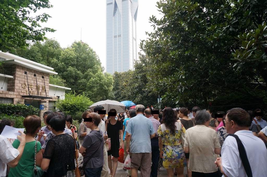 中国・上海での代理婚活の様子と雰囲気