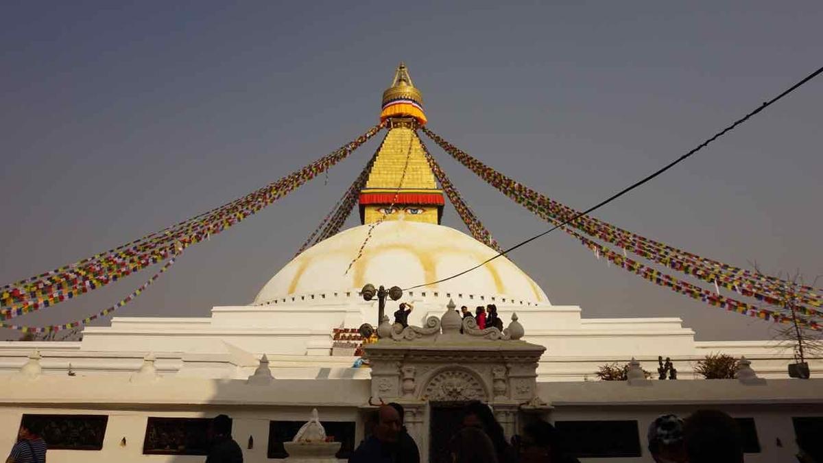 ネパール ブッダストゥーパ