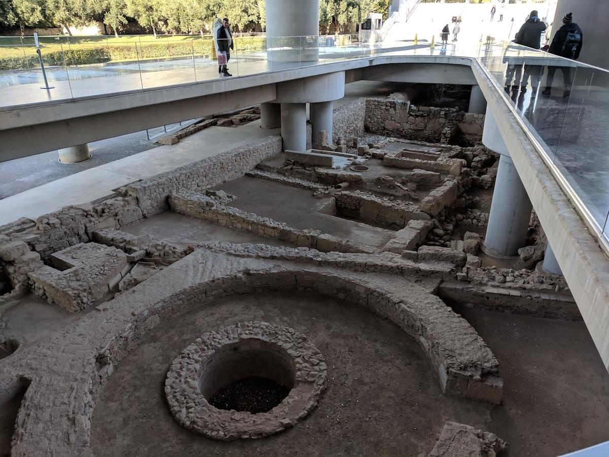 アテネ 新アクロポリス美術館