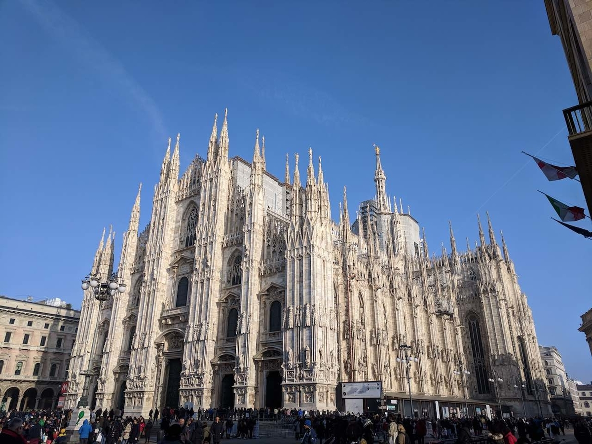 ミラノ 大聖堂 ドォーモ
