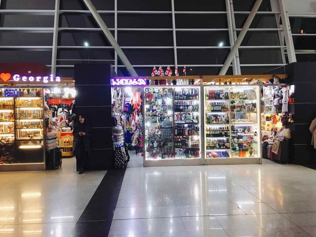 ジョージア トビリシ 空港