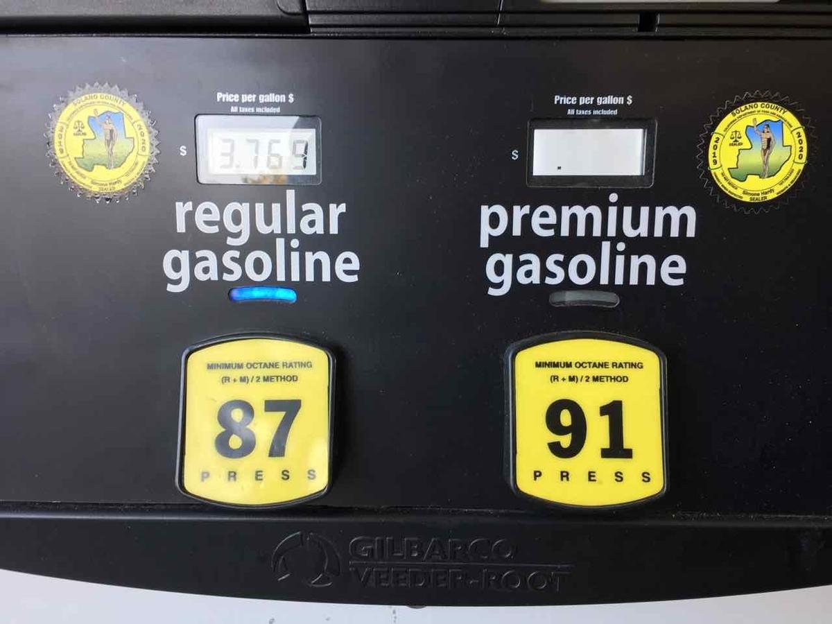 アメリカ ガソリンの種類