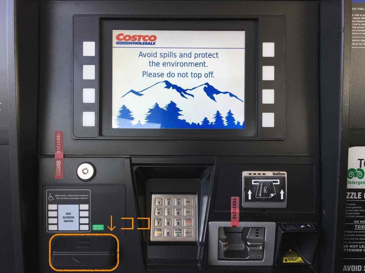 ガソリンの給油方法