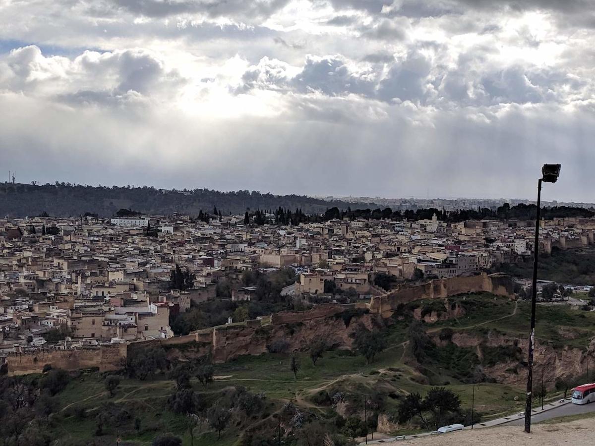 モロッコ・フェズ 旧市街