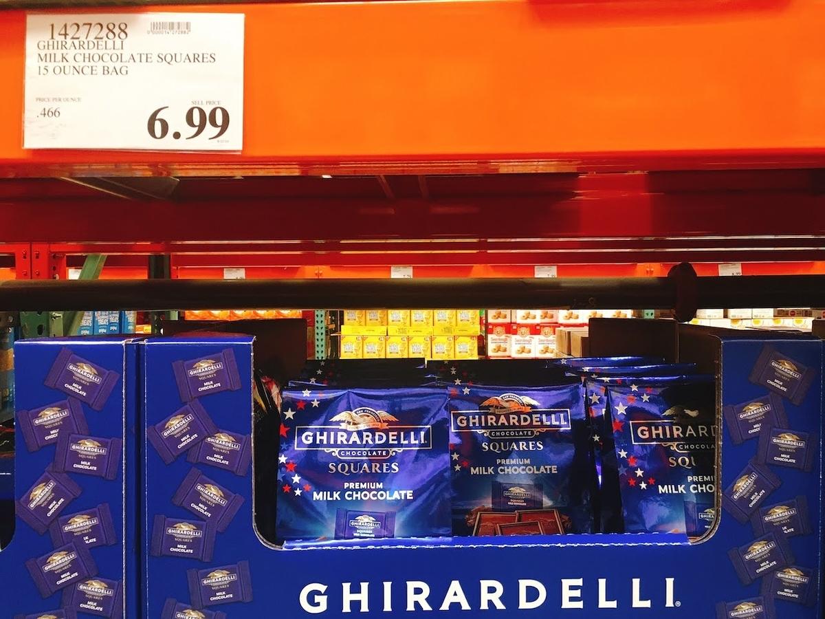 コストコで買えるギラデリチョコレート