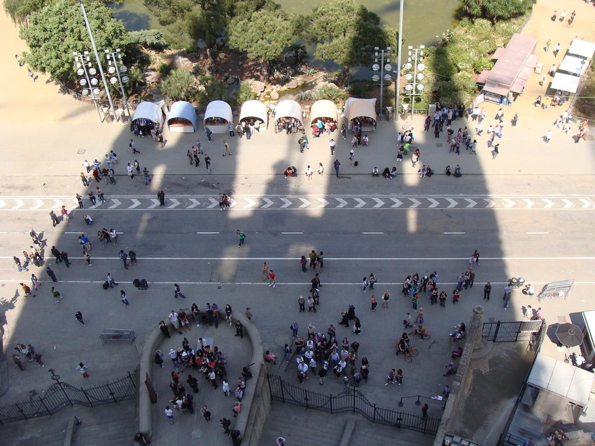 サグラダ・ファミリア 展望台からの眺め
