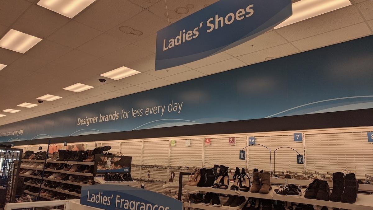 ロスドレスフォーレス レデイースの靴