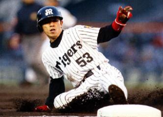 阪神タイガースのシーズン30盗塁...