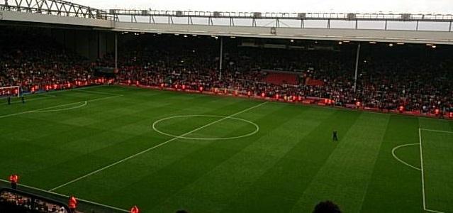 サッカー場の写真