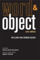 Word and Object, New ed.