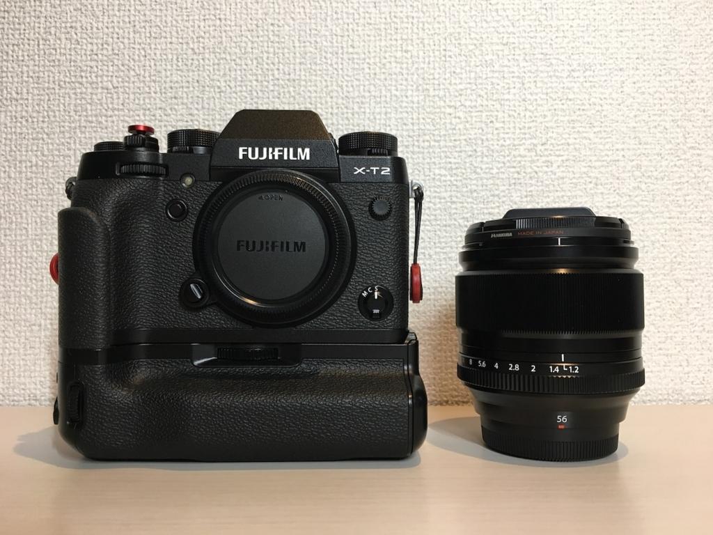 X-T2とXF56mm F1.2の写真
