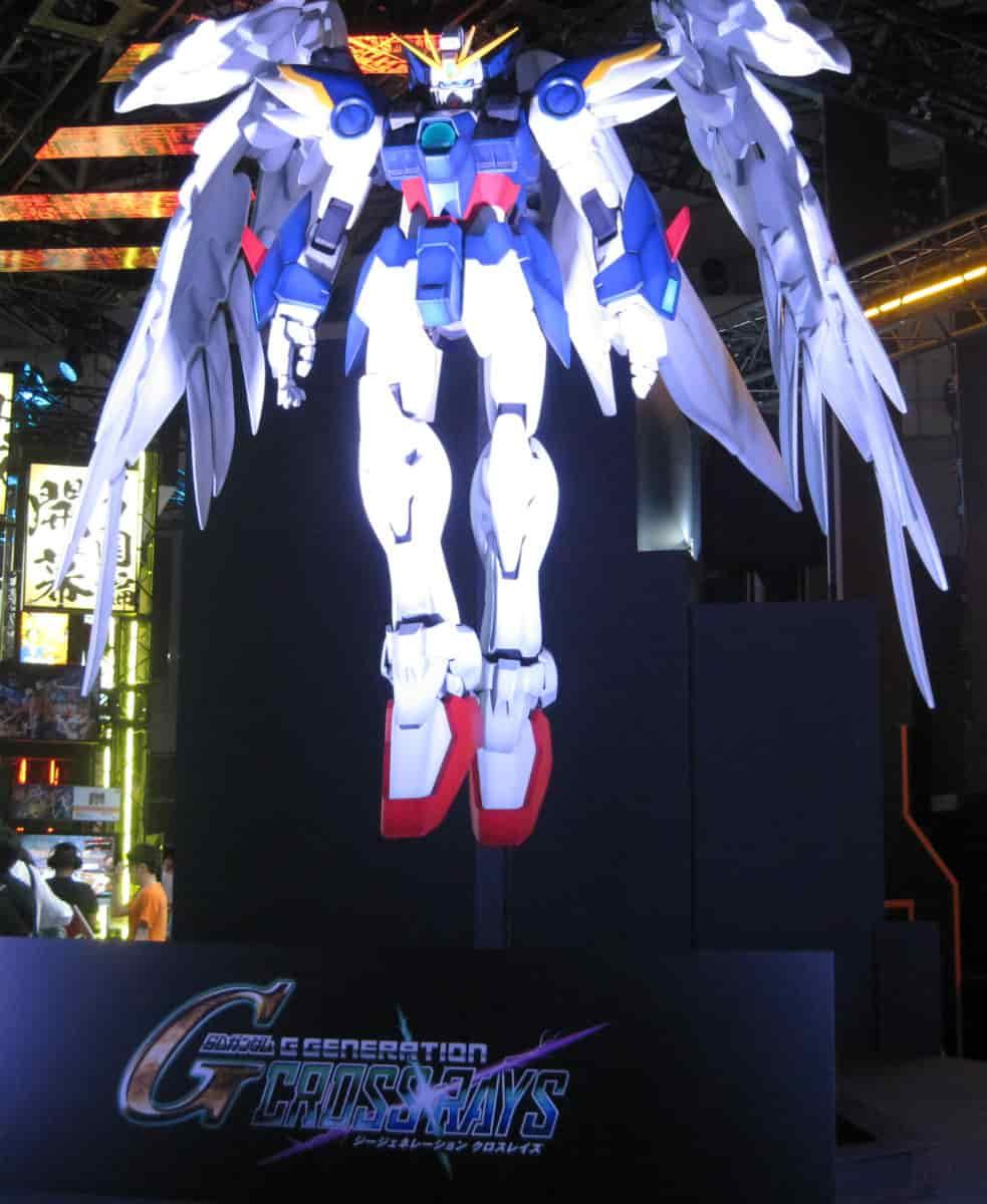 「東京ゲームショウ2019」バンダイナムコのガンダム