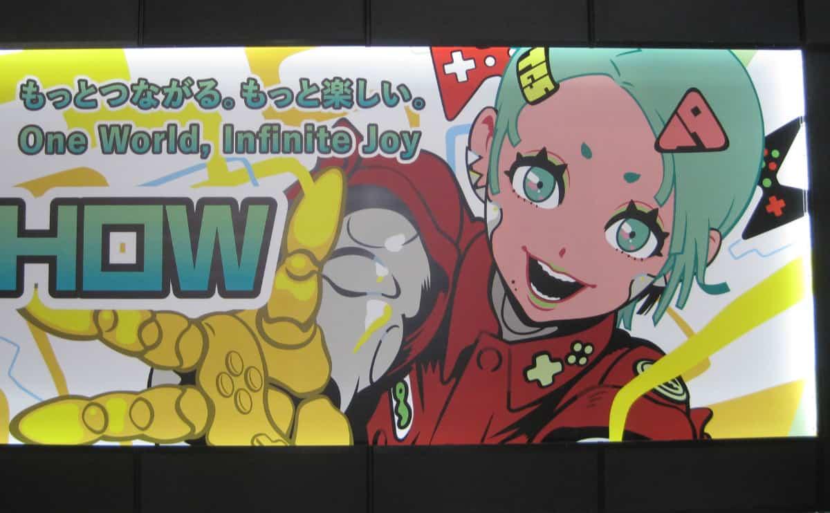 「東京ゲームショウ2019」のポスター  入口や至るところで、見かけるポスターがコレ!