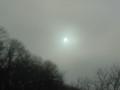 [白い太陽][冬][霧]