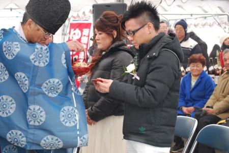 [150219千年祭結婚式三々]