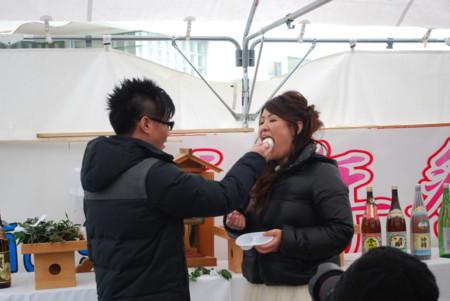 150219千年祭結婚式あ〜ん]