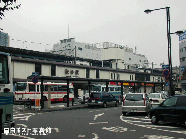 2004年のJR取手駅