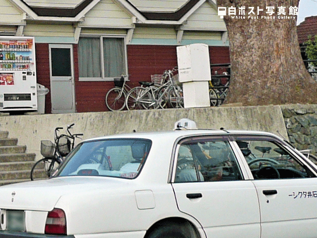 石井駅の白ポスト