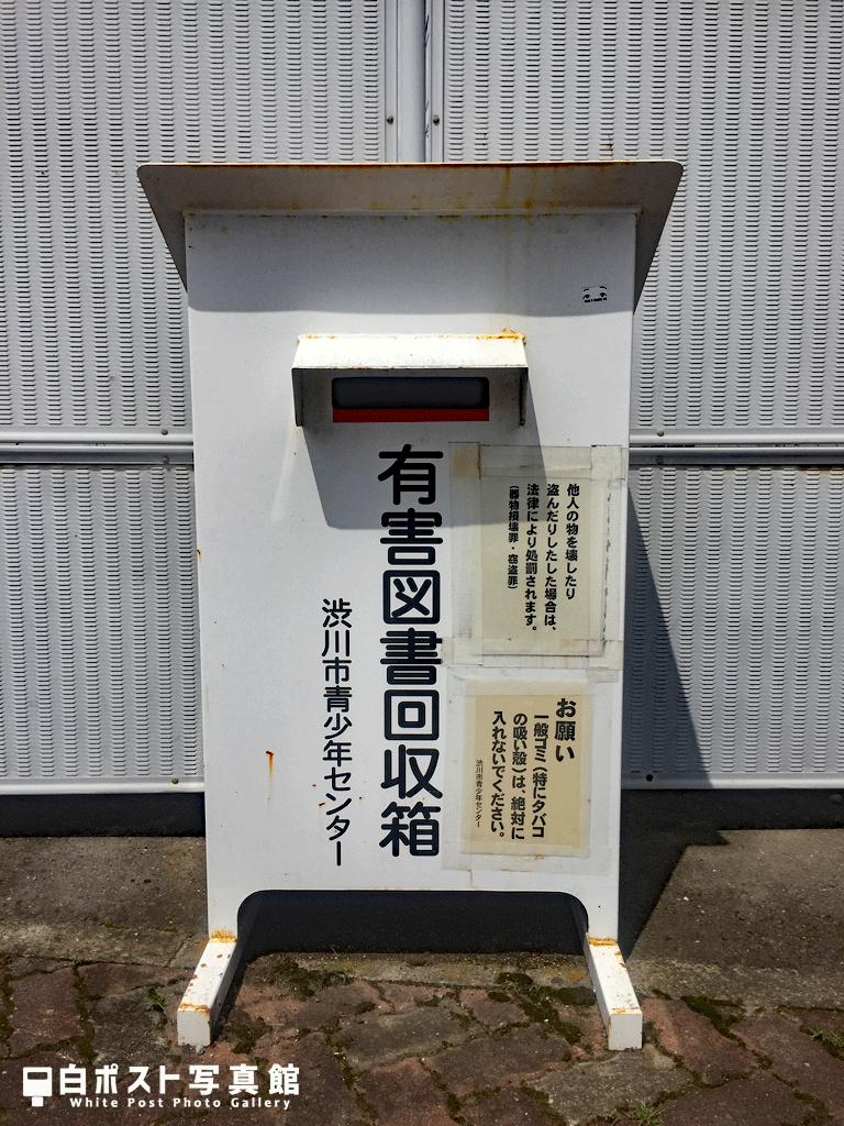 新装版渋川駅の白ポスト